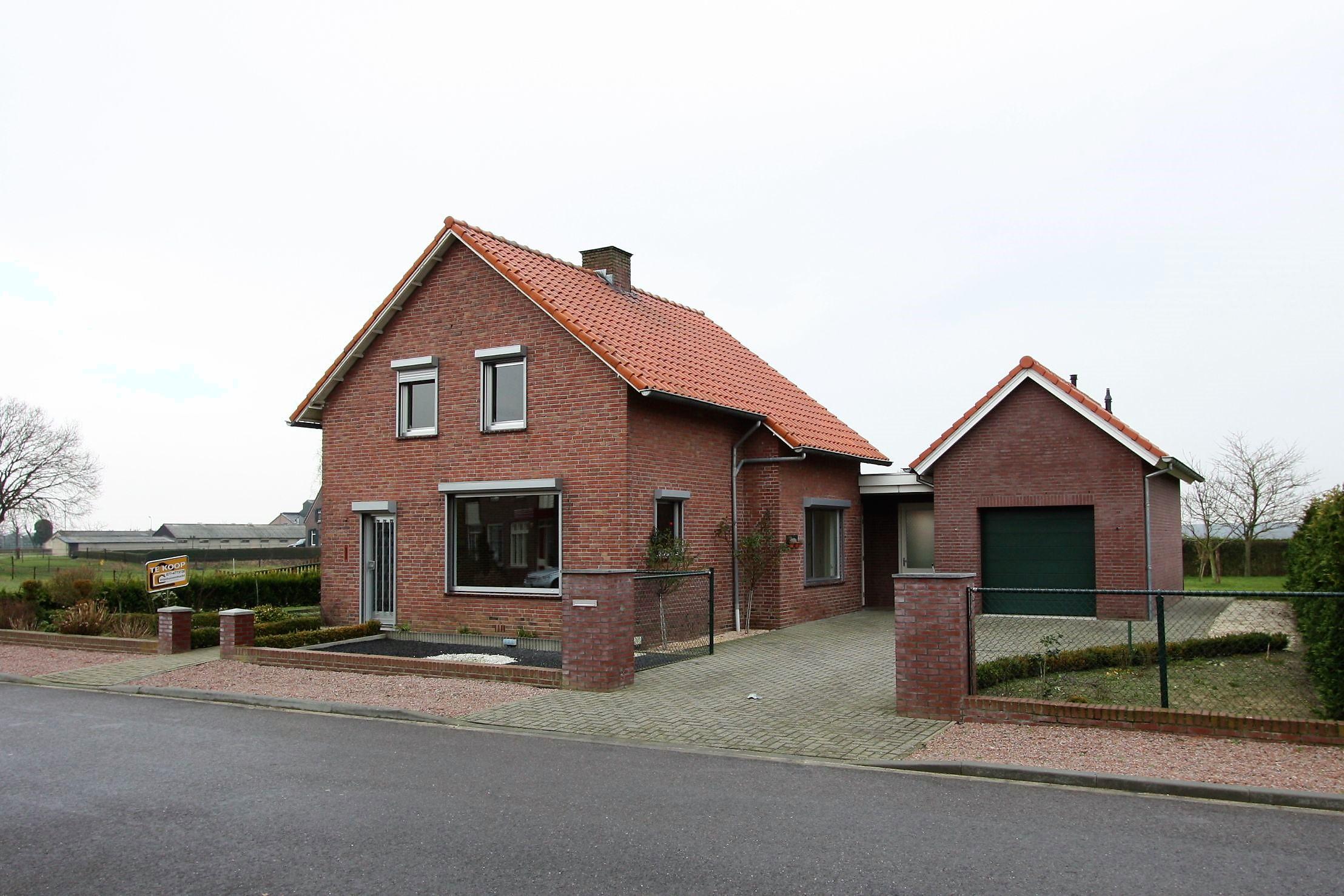 Vrijstaand woonhuis snel verkopen